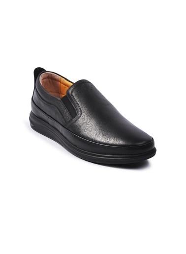 Ayakmod 478 Günlük Deri Erkek Ayakkabı Siyah